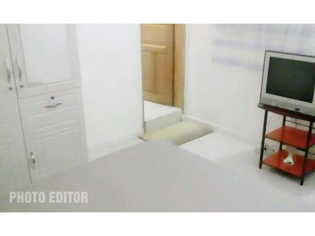 Chambres ventilées avec chauffe eau. Contact 775511435